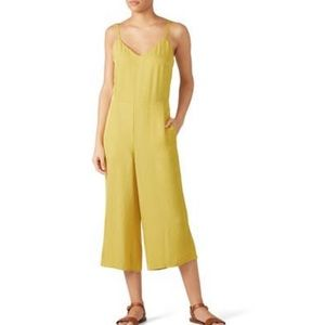 Vince cami yellow jumpsuit k6